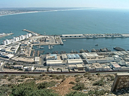 Port d'Agadir : premier port de pêche du Maroc