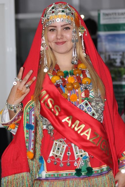 Loubna Chemmmak, miss Amazigh 2016.
