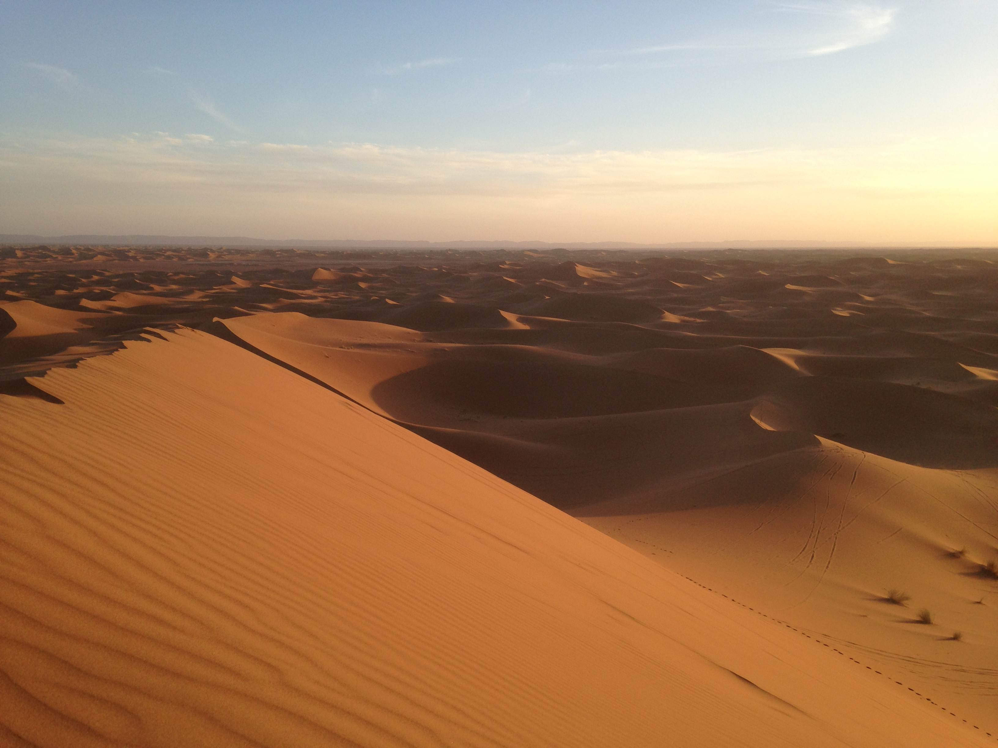 Désert du Sahara à M'Hamid
