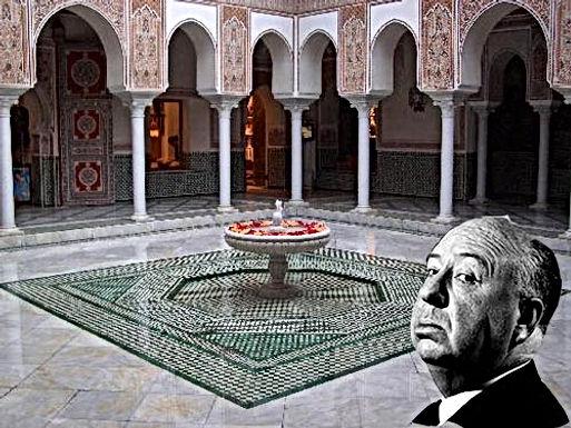 Mamounia de Marrakech : drôles de personnages, d'Hitchcok à Claude Aguttes