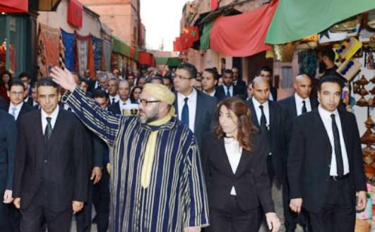 Le roi Mohammed VI entend préserver le patrimoine culturel et civilisationnel des anciennes villes du Maroc.