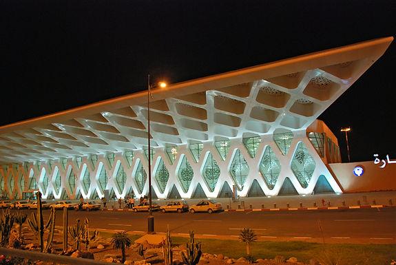 Aéroport Menara Marrakech : nouvelle peau très contemporaine