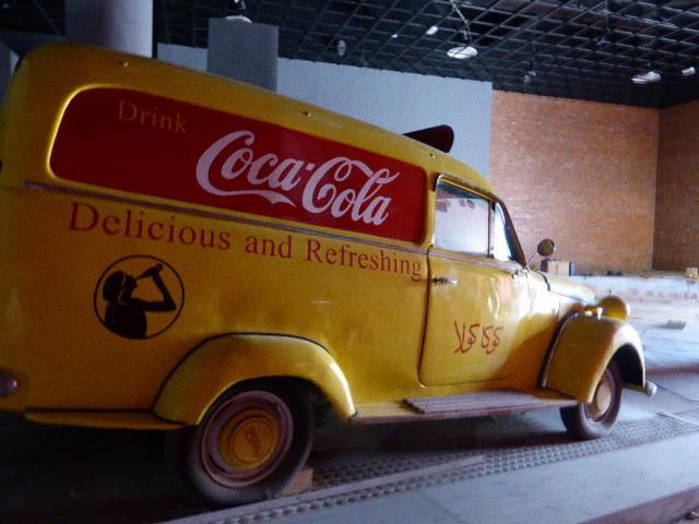 Historique voiture de livraison Coca-Cola