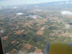 Approche de l'aéroport d'Agadir