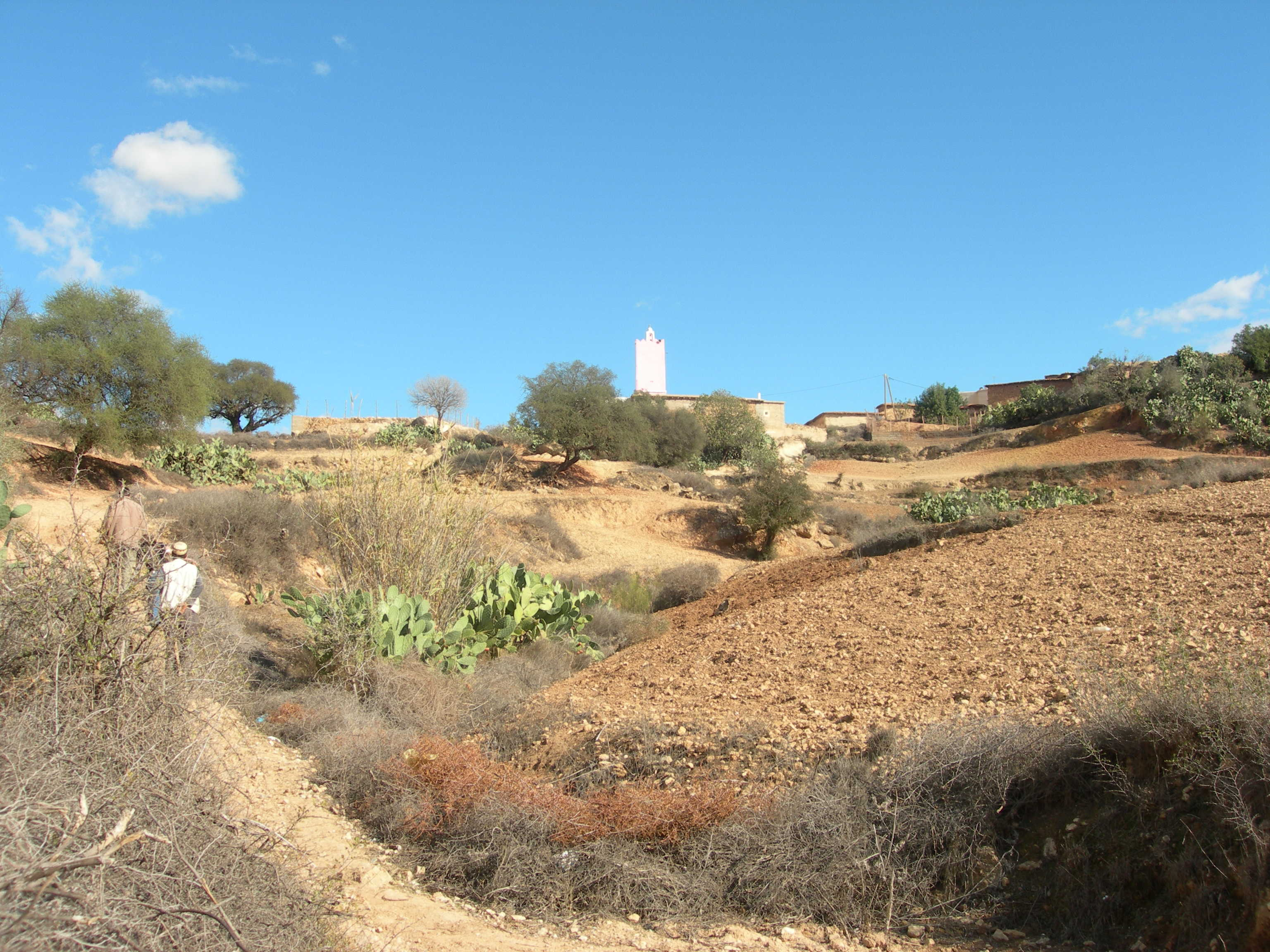 Village intact