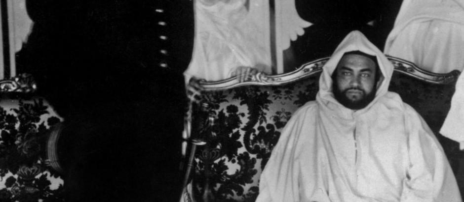 1926 : l'arrière-grand-père de Mohammed VI, le sultan Moulay Youssef, reçu à Agadir