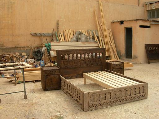 Agadir : des meubles typiquement berbères
