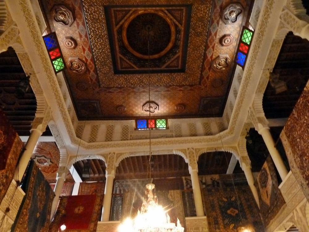 Ancienne synagogue de Taroudant, reconvertie en boutique, à l'enseigne d'Aladin