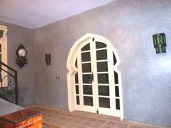 Porte fenêtre sur la galerie Souss