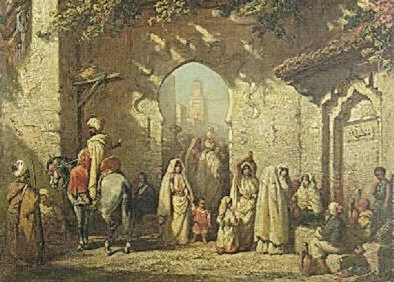 Eugène Delacroix, Salvador Dali et les Romains réunis à Tétouan