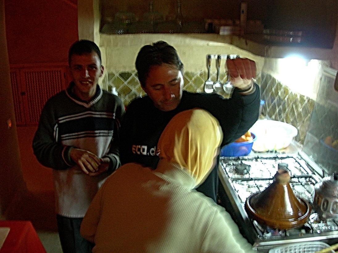 Taroudant : parfum de tajine à la cuisine !