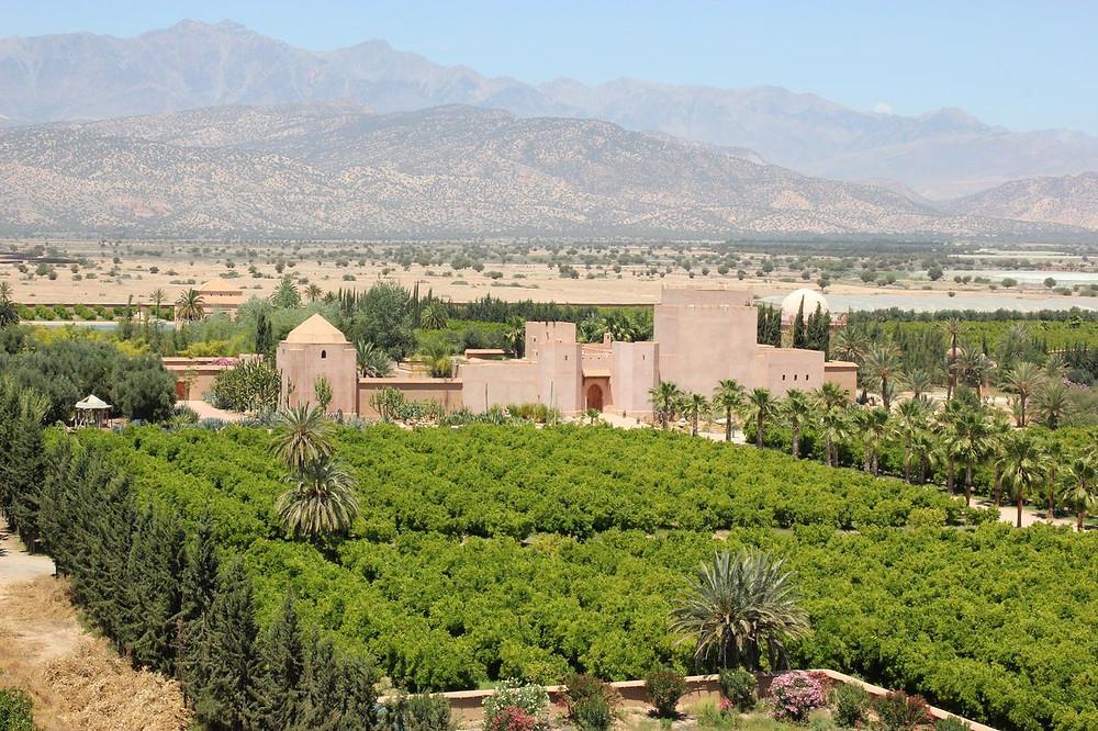 Le Claudio Bravo Palace, entre Taroudant et l'Atlas