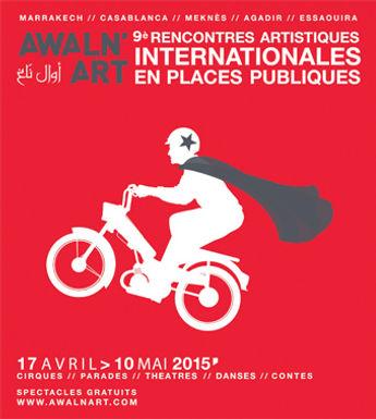 Awaln'Art du 7 au 10 mai sur les places publiques et les théâtres d'Agadir