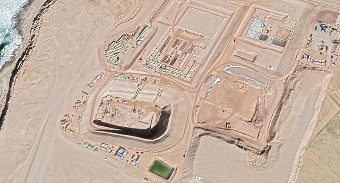 La station de dessalement de l'eau de mer du sud d'Agadir fonctionnera l'an prochain, mais...