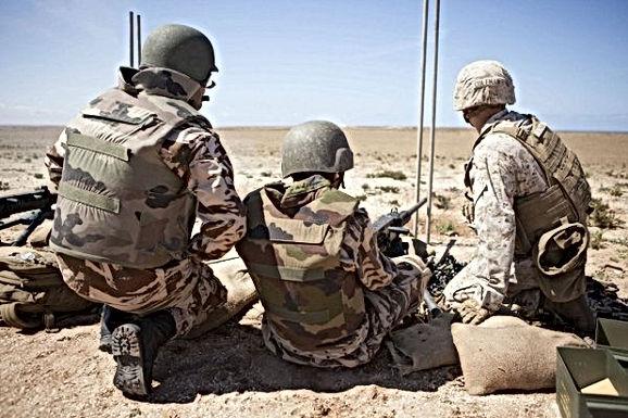 Manoeuvres militaires et de renseignement des FAR avec les forces américaines et l'OTAN