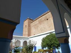 Mur ouest de la kasbah