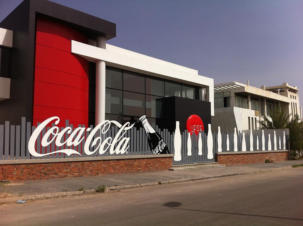 Le Musée Coca-Cola d'Agadir, situé sur la route menant à Tikiouine depuis le centre-ville.