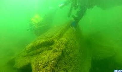 Plongeurs, l'impressionnante épave d'un bateau à vapeur à explorer à 500 mètres de la terre ferme !