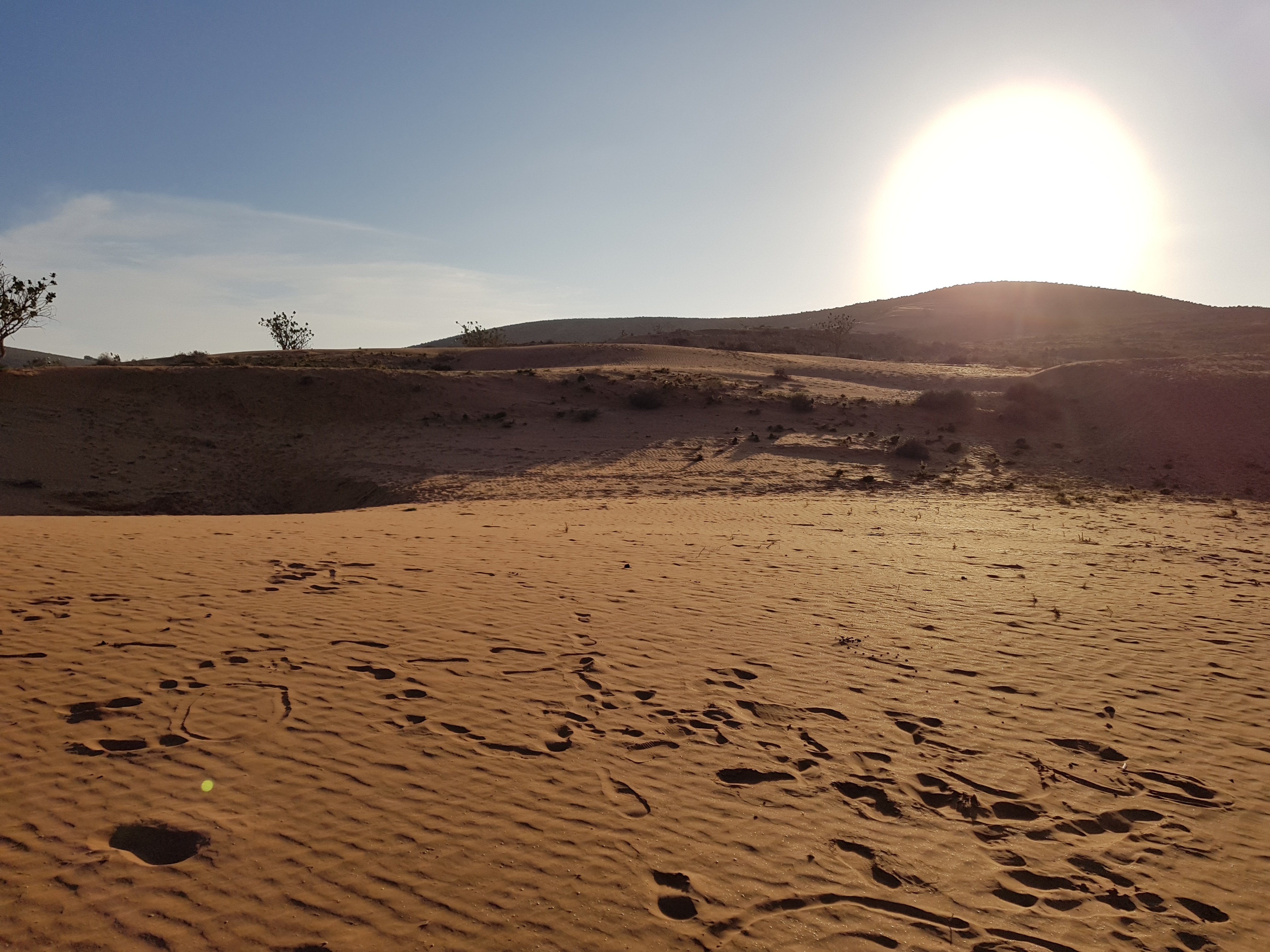 Petit Sahara à Rasmouka