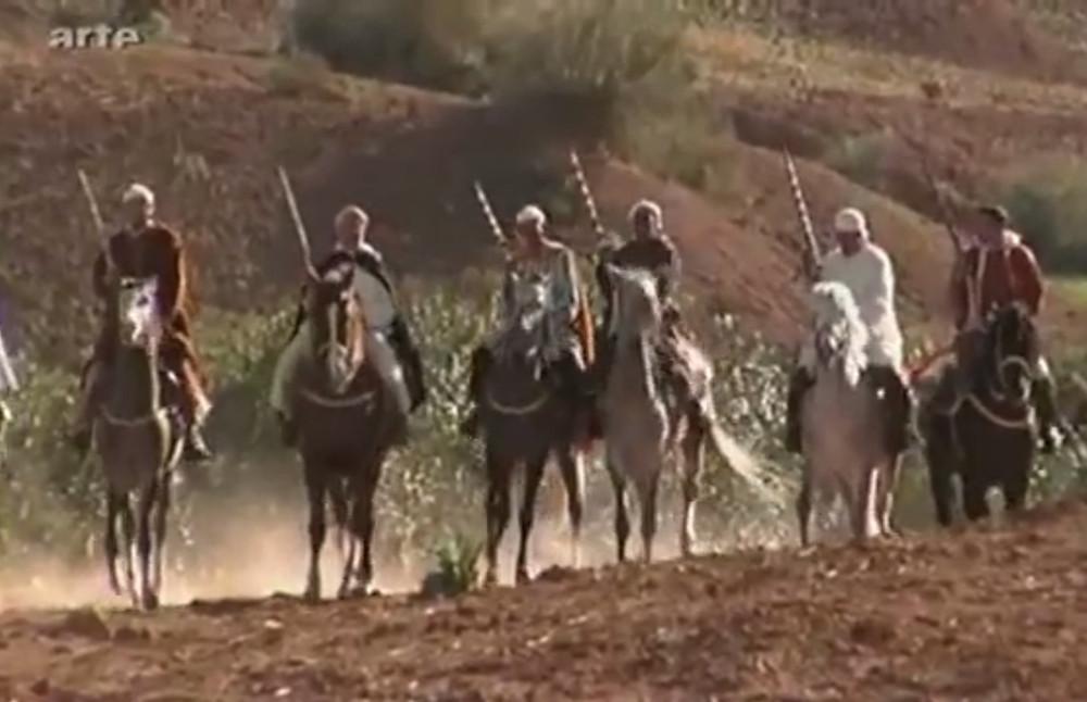 La fantasia célèbre le combat mené (et perdu) par les Berbères contre l'envahisseur arabe.