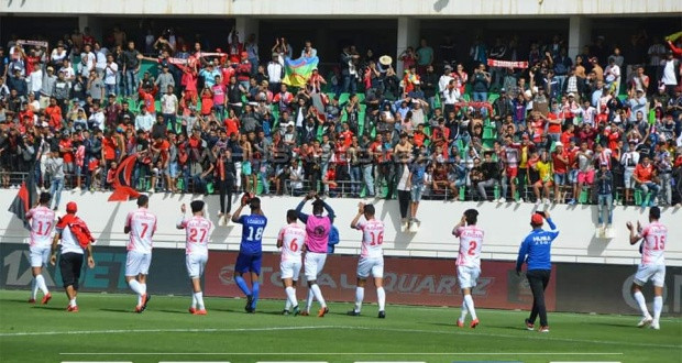 17 mars 2019 : le HUSA d'Agadir se qualifie pour  les quarts de finale de la Coupe de la Confédération. La joie est immense.
