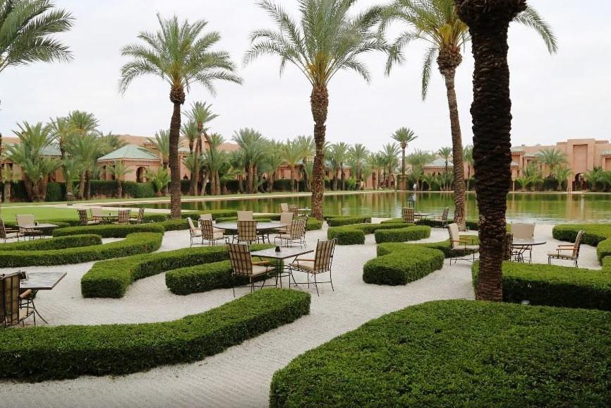 Le Palais Amanjena de Marrakech, luxueux hôtel de la Ville ocre