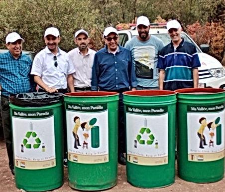 """Chasse aux déchets à la Vallée du paradis : """"Keep it clean, keep it zouin"""""""