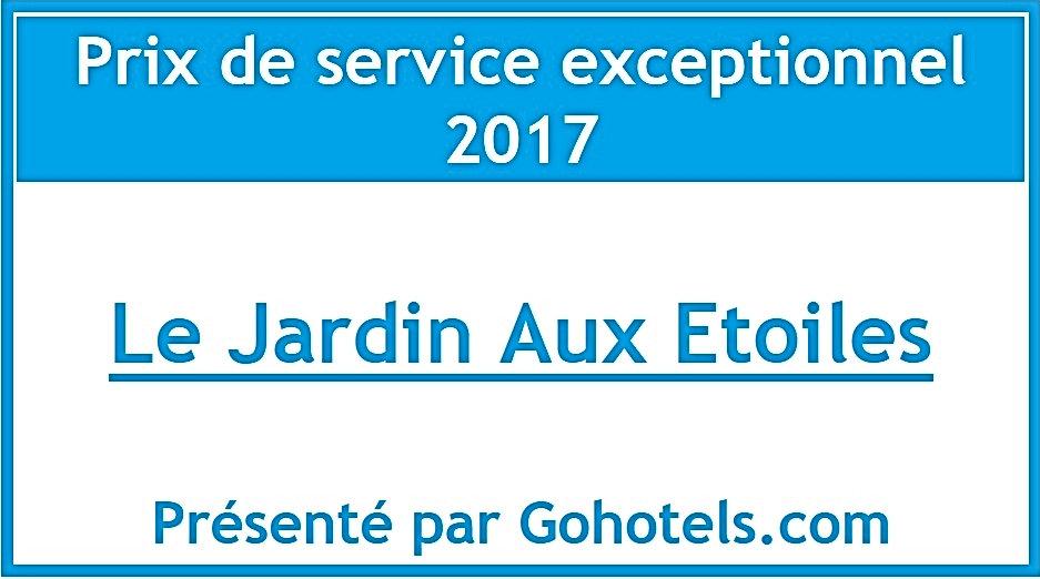 Nouveau prix attribué à notre villa de vacances pour la qualité du service et l'hospitalité