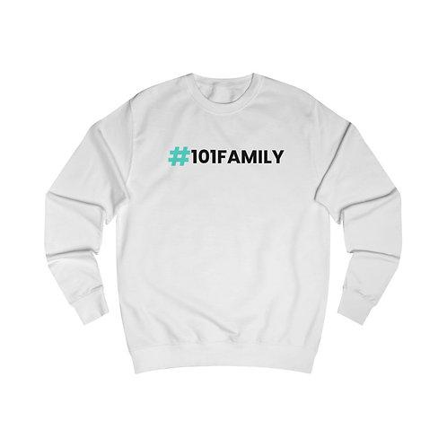 #101Family crewneck - White