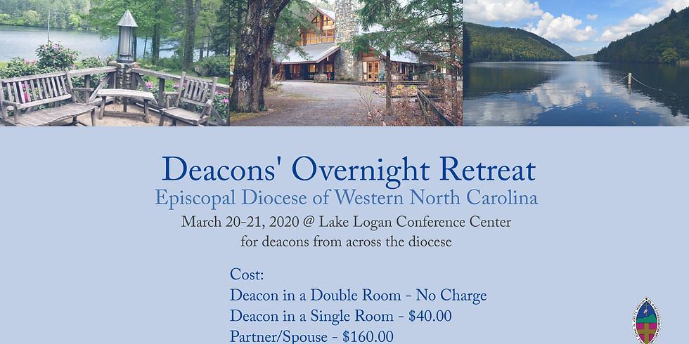 POSTPONED Deacons' Overnight Retreat