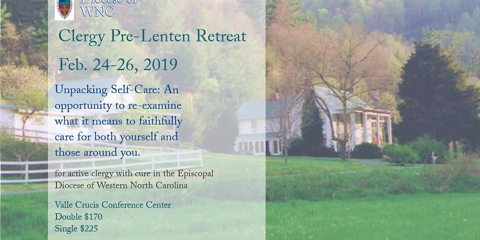 Clergy Pre-Lenten Retreat