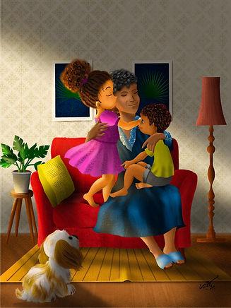 Hugs in the mail_written by Kimberly Dav