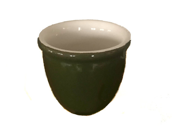 Retro - Forest Green Salt Cellar