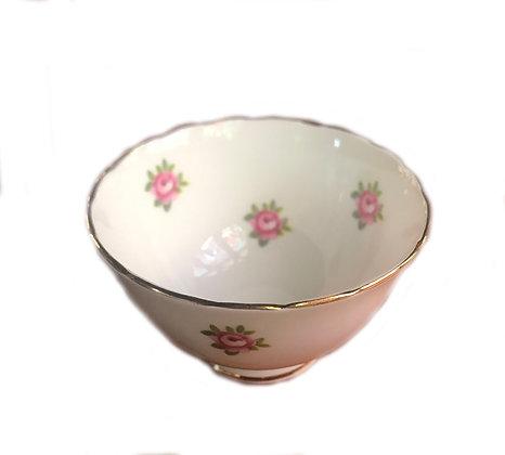 Vintage - Royal Chelsea Bone China Salt Bowl