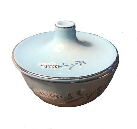 Retro - Taylor, Smith and T Mid Century Turquoise Bowl Pebbleford