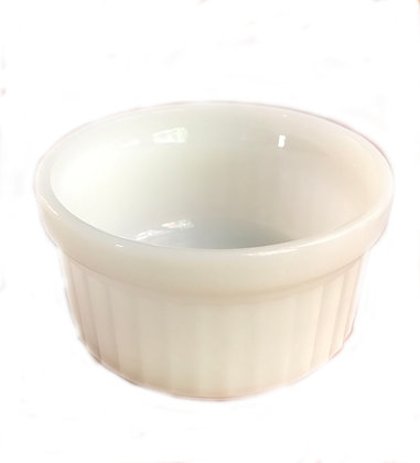 Fire King Fluted White Bowl