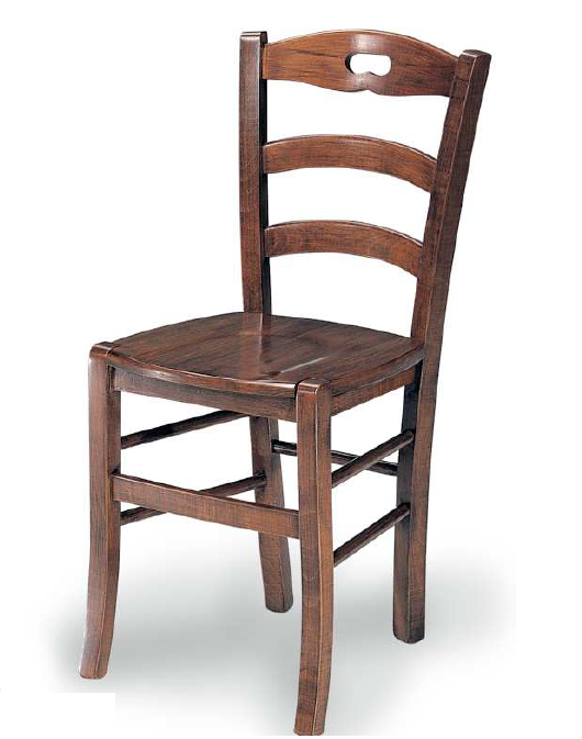 Sedia S legno