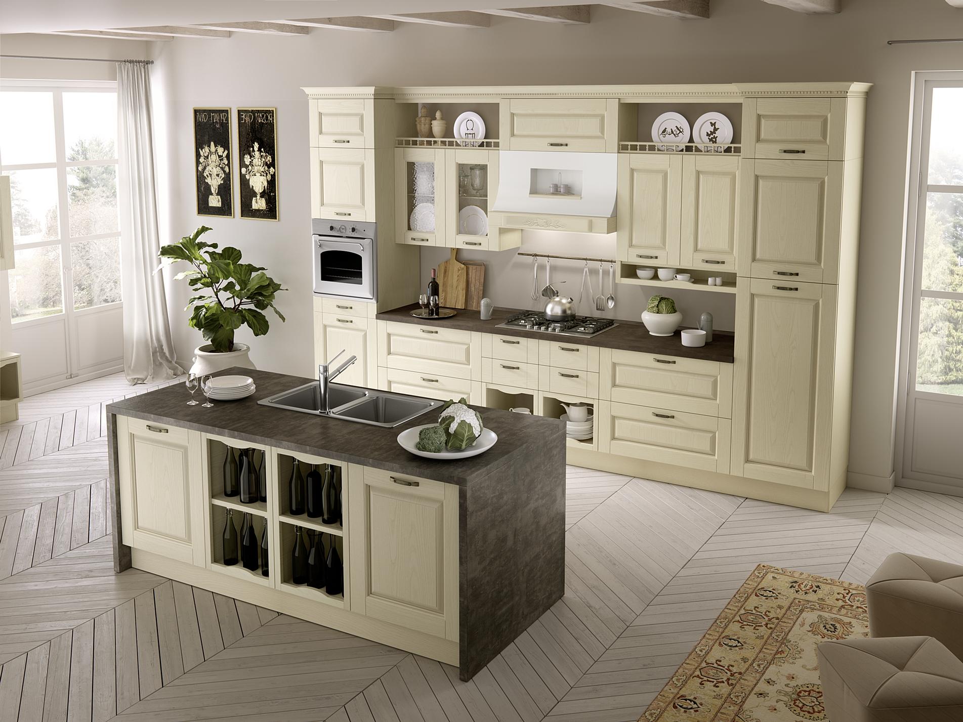 101 Ala Arredamenti - cucine classiche in muratura nr12 ...