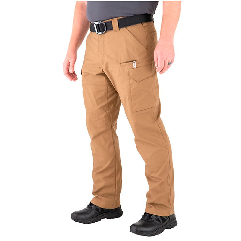 Pantalón Táctico V2 Color Coyote  |  First Tactical