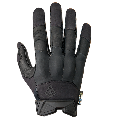 Guantes Tácticos Hard Knuckle Patrol color Negro  |  First Tactical