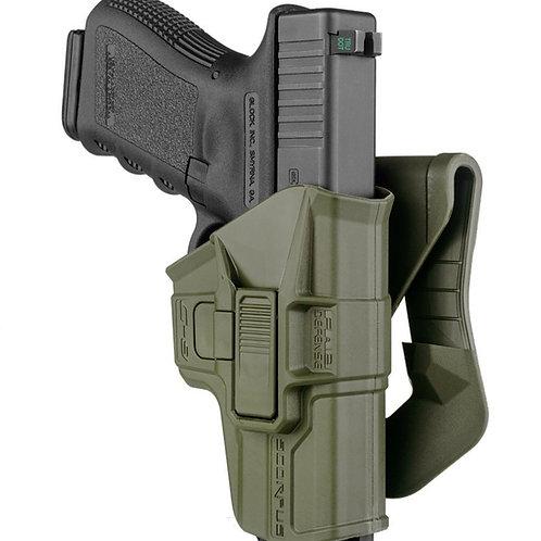 Funda Táctica Scorpus M1 Glock color Verde  | FAB Defense