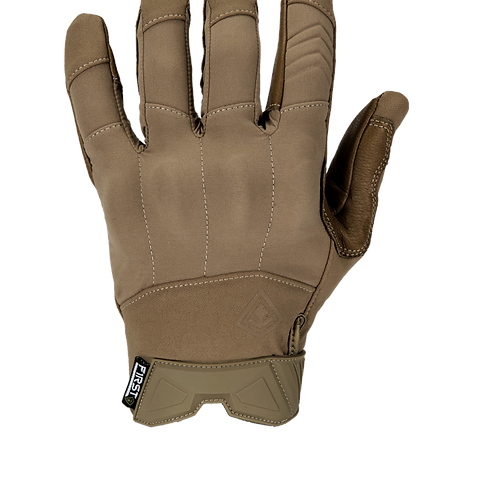 Guantes Tácticos Hard Knuckle Patrol color Coyote  |  First Tactical