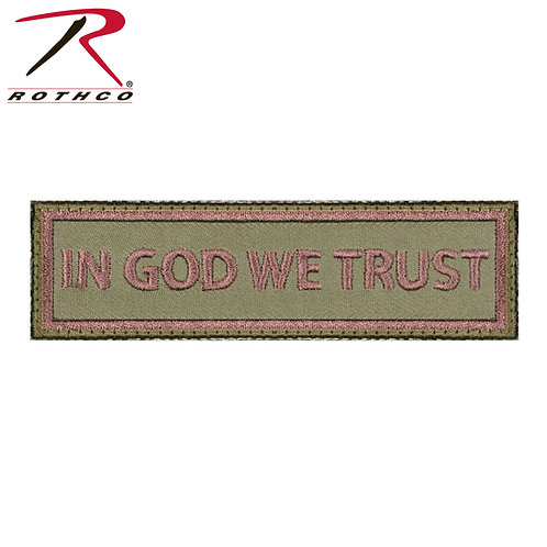 Parche In God We Trust  |  ROTHCO