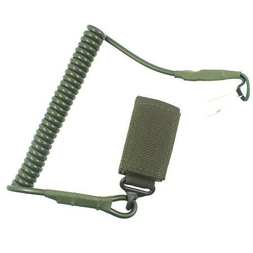 Cordón de Seguridad para pistola color Verde  |  PTYTS