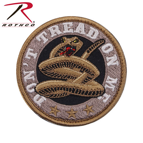 Parche Don't Tread on Me O  |  ROTHCO