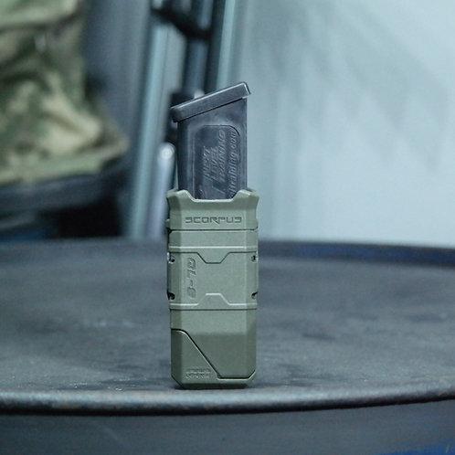 Porta Proveedor Táctico Scorpus QL-9  color Verde  | FAB Defense