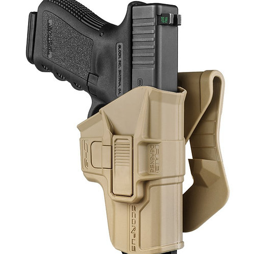 Funda Táctica Scorpus M1 Glock color Tan  | FAB Defense