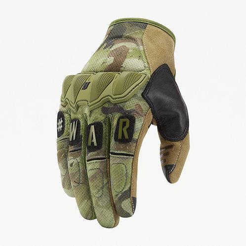 Guantes Tácticos Wartorn color Spartan Camo  |  Viktos