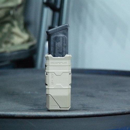 Porta Proveedor Táctico Scorpus QL-9  color Tan  | FAB Defense