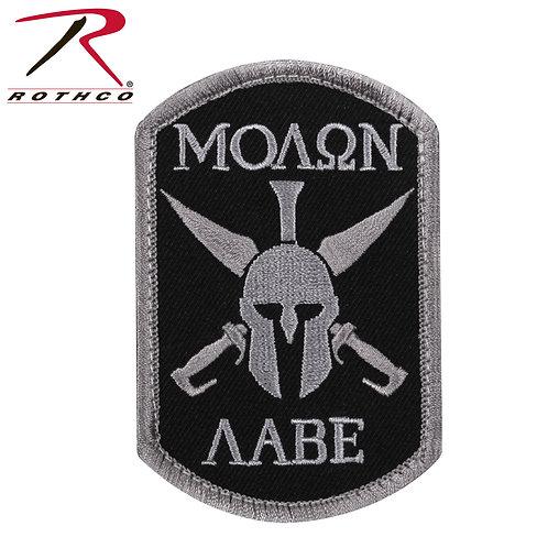 Parche Molon Labe Spartan Black  |  ROTHCO
